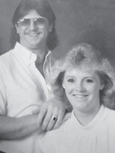Pictured are Leonard and Gwen Begley. She had a birthday on Dec. 29.
