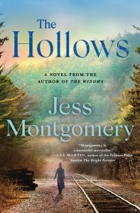 """This cover image released by Minotaur shows """"The Hollows"""" by Jess Montgomery."""