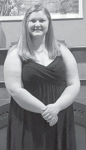 Rose Ballard's granddaughter, Jessica Nottingham, attended the Beechwood High School winter formal. She is a senior.