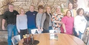 Reunion planners are Shelby Wynn, Pam Sexton Taylor, Edwena Stallard Sexton, Jennie Combs Bentley, Rosa Lee Holbrook Gilliam, Jeanette Tacket Yonts, Vickie Frazier Caudill, Perry Fowler, and Sondra Holbrook Phillips.