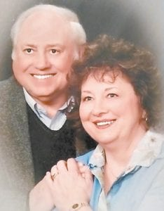 ANNIVERSARY — Katherine Caudill Amburgey and Enos Amburgey, formerly of Premium and Letcher respectively, recently celebrated their 55th wedding anniversary at Cumberland Falls State Resort Park. The couple wed on February 22, 1965 in Clintwood, Va., and moved near North Vernon, Ind. not long after their marriage. They have two children, Enos Jr. of North Vernon, Ind., and Rebecca Amburgey Ude of Carmel, Ind., two grandchildren and three great-grandchildren, all of whom live close by and love spending time together.