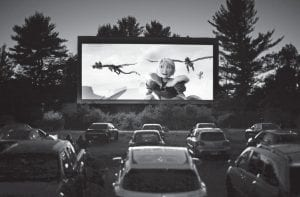The drive-in theater, long a dwindling nostalgia act in a multiplex world, is experiencing a momentary return to prominence. With nearly all of the nation's movie theaters shuttered due to the pandemic, some drive-ins are the only show in town. (AP Photo)