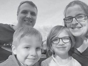 Michael Ison's daughter Brooke, her husband, Jeff, Sedona, and Hudson Ruskamp live in New York. Michael Ison lives on Kingscreek.