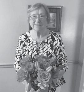 Ann Calihan is pictured with a Mother's Day bouquet. She is formerly from the Roxana area, and makes her home in Harrison, Ohio.