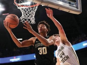 Olivier Sarr averaged almost a double-double at Wake Forest last season and will give UK a needed big for next season if he is ruled eligible by the NCAA. (Wake Forest Photo)