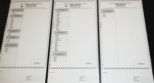 Primary election ballots will look different when the election is held June 23.
