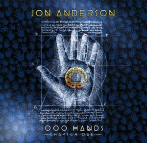 """This cover image released by Blue Elan Records shows """"1000 Hands"""" by Jon Anderson."""