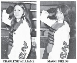 Maggie Fields and Charlene Williams