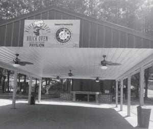The new pavilion at Hemphill Community Center was the site of the Coal Miner's Music Event.