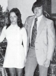 SONDRA HOLBROOK and JEFF HOLBROOK MR. AND MISS WHITESBURG HIGH SCHOOL