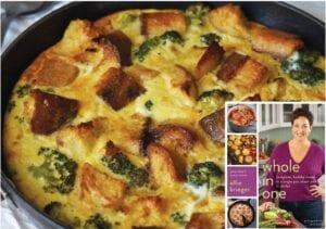 Broccoli Cheddar Skillet Strata