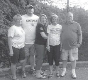 Lee Bates Adams, Chad Bates, Lisa Bates, Helen Bates, and the late Elmer Bates