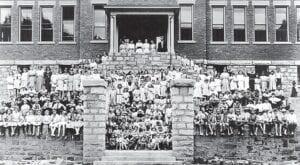 Jenkins School students 1917
