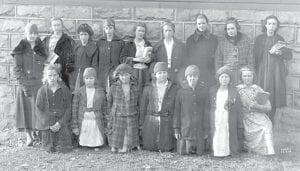 4-19-1919 Domestic Class at McRoberts High School