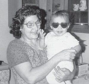 Dorothy Pennington Tacket is pictured with her grandson Steven Holbrook.
