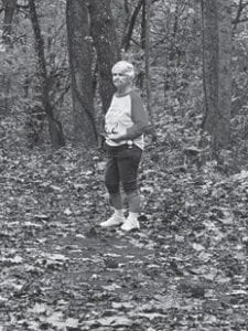 Southern Ohio columnist Rose Ballard enjoys the fallen autumn leaves.