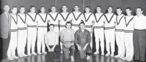 Cavalier Basketball 1962 — Coach Jim Summers, Robert Dean Collins , Larry Pack, Richard Tucker, Donnie Mullins, Kenny Blair, Larry Mullins, David Bentley, Phil Greer, Ronnie Mullins, Jerry Conley, Bill Crase, Sam P Mullins, Assistant Coach John Morgan and Managers: Haskew Hayes, Bobby Flint, Teddy Chapman.