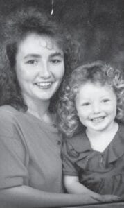 Ana Maria Caudill with her oldest daughter Kayla Caudill