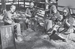 Dale Farmer, Warren Waldron, Judy Waldron, and Amy Coogan Clay are members of the Jericho Road Old Time Band. Dale Farmer produced and directed the film Mountain Minor and Warren and Judy Waldron and Amy Coogan Clay played music in it.