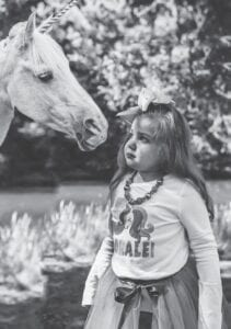 Five-year-old Loralei Amburgey is seen in this photo provided by her mother, Brandi Amburgey.