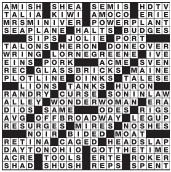 Newsday Crossword Puzzle Answer
