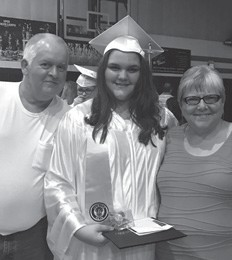 Wendell and Alicia Cook with their granddaughter Gabby Cook.