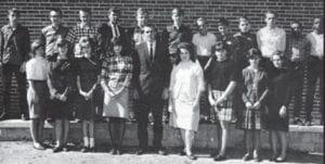 4-H Club — Gary Pack-President, Ray Howard-Vice President, Linda Adams-Secretary/ Treasurer, Jimmie Arthur-Sponsor.