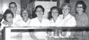 LUNCHROOM STAFF — Mrs. Sizemore, Mrs. Adams, Mrs. Hall, Mrs. Combs, Mrs. Graham, Mrs. Vanover, Mrs. Warf - Supervisor.