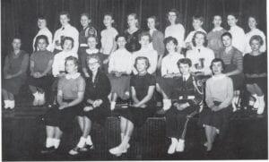 FTA — Officers: President, Carolyn Asbury; Vice President, Mickey Looney; Secretary, Anita Dotson; Treasurer, Peggy Craft; Sponsor, Miss Brown.