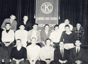 KEY CLUB — Officers: President, Tommy Bates; Vice President, Bill Elkins; Secretary and Treasurer, David Howard; Lt. Governor, James Gray; Sponsor, Mr. Cantrell