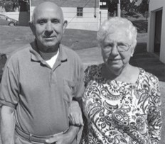 Ed and Betty Jo Webb Pike. She had a birthday on Feb. 1.