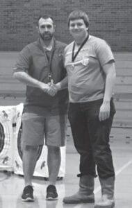 Jonathon Richardson, an archery coach, and Davey Keel. Davey had a birthday on the 12th.