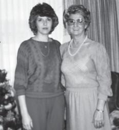 Linda Jo Pennington Greene with her late mother, Josephine Pennington. Linda will have a birthday on the 18th.