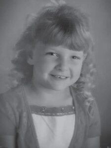 Happy birthday to Jessica Nottingham, a daughter of Scott and Anna Nottingham, granddaughter of Rose Ballard.