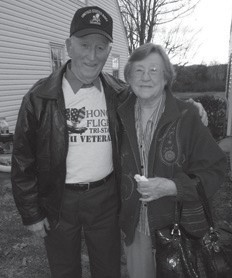 Johnny and Ann Calihan a few years ago. They are originally from the Roxana area.