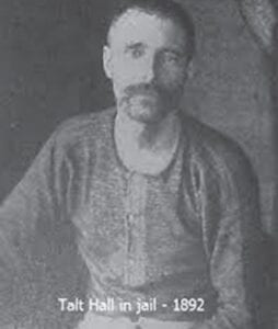 """Letcher County native """"Bad Talt"""" Hall once claimed to have killed 99 men, though some of them were slain during his service under General Morgan in the War Between the States."""