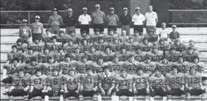 YELLOWJACKET FOOTBALL TEAM 1981-1982