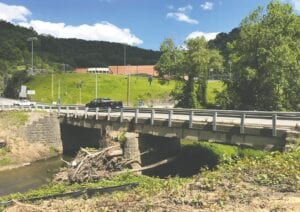 Work will begin Monday on a project to replace this bridge built at Ermine 100 years ago. (Eagle photo)