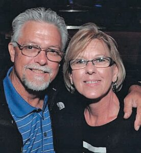 The late Tim Breeding and his wife Carol
